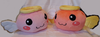 Ragnarok Plush-Angelings (color: pink & salmon)